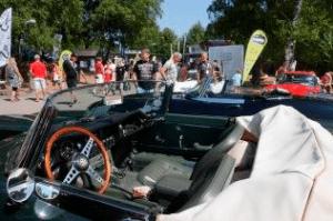 Interiör på en Indigo 3000 från Halmstad Sportcar event