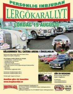 Vallåkraträffen och Lergökarallyt.